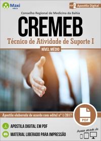 Técnico de Atividade de Suporte I - CREMEB