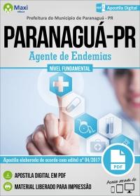 Agente de Endemias - Prefeitura de Paranaguá - PR
