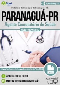 Agente Comunitário de Saúde - Prefeitura de Paranaguá - PR