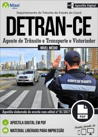 Agente de Trânsito e Transporte e Vistoriador - DETRAN-CE