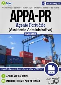 Agente Portuário - Assistente Administrativo - APPA-PR