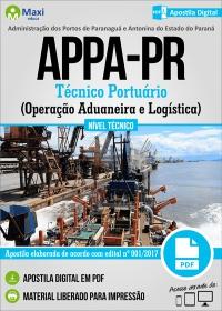 Técnico Portuário - Operação Aduaneira e Logística - APPA-PR