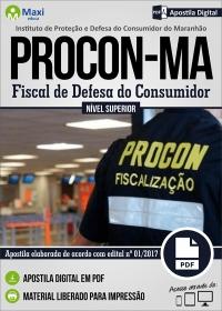 Fiscal de Defesa do Consumidor - PROCON - MA
