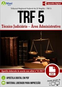 Técnico Judiciário - Área Administrativa - TRF 5ª Região