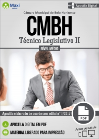 Técnico Legislativo II - Câmara de Belo Horizonte - MG
