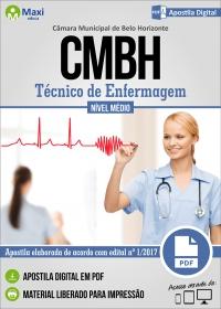 Técnico de Enfermagem - Câmara de Belo Horizonte - MG