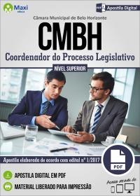 Coordenador do Processo Legislativo - Câmara de Belo Horizonte - MG
