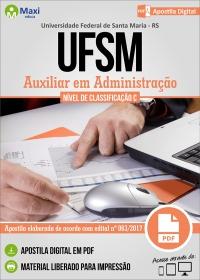 Auxiliar em Administração - UFSM