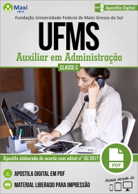 Auxiliar em Administração - UFMS
