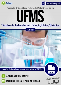 Técnico de Laboratório - Biologia/Física/Química - UFMS