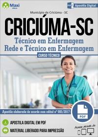 Técnico em Enfermagem - Rede e Téc. em Enf. - Prefeitura de Criciúma - SC