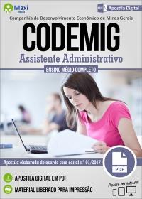 Assistente Administrativo - CODEMIG