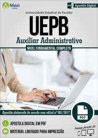 Auxiliar Administrativo - UEPB