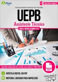 Assistente Técnico - UEPB