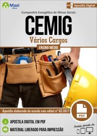 Vários Cargos - Ensino Médio - CEMIG