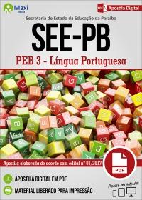 Professor de Educação Básica 3 - Língua Portuguesa - SEE-PB