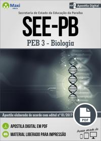 Professor de Educação Básica 3 - Biologia - SEE-PB