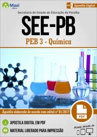 Professor de Educação Básica 3 - Química - SEE-PB