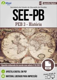 Professor de Educação Básica 3 - História - SEE-PB