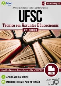 Técnico em Assuntos Educacionais - UFSC