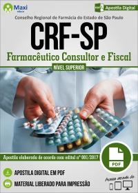 Farmacêutico Consultor e Farmacêutico Fiscal - CRF-SP