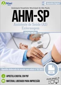 Assistente de Saúde (AS) - Enfermagem - AHM-SP