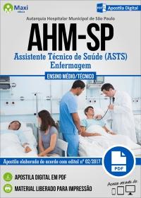 Assistente Técnico de Saúde (ASTS) - Enfermagem - AHM-SP
