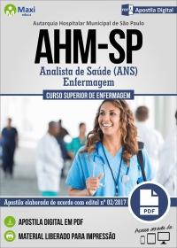 Analista de Saúde (ANS) - Enfermagem - AHM-SP