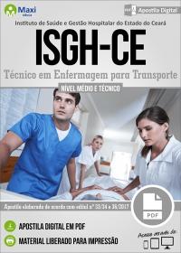 Técnico em Enfermagem para Transporte - ISGH-CE