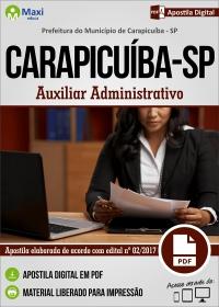 Auxiliar Administrativo - Prefeitura do Carapicuíba - SP