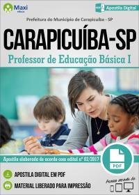 Professor de Educação Básica I - Prefeitura do Carapicuíba - SP