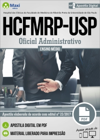 Oficial Administrativo - HCFMRP-USP