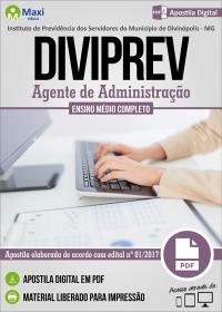 Agente de Administração - DIVIPREV - Divinópolis - MG