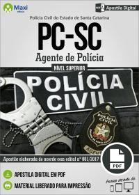 Agente de Polícia - Polícia Civil - SC