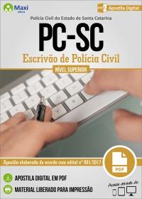 Escrivão de Polícia Civil - Polícia Civil - SC