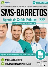 Agente de Saúde Pública - ESF - SMS - Barretos - SP