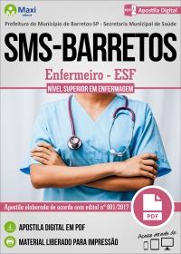 Enfermeiro - ESF - SMS - Barretos - SP