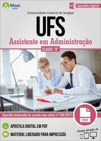Assistente em Administração - Classe D - UFS