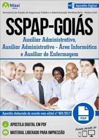 Auxiliar Adm. - Área Informática e Auxiliar de Enfermagem - SSPAP - Goiás
