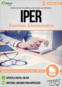 Assistente Administrativo - IPER - Roraima