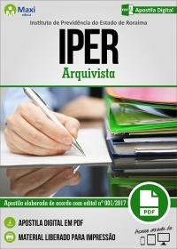 Arquivista - IPER - Roraima