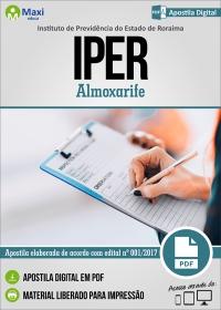 Almoxarife - IPER - Roraima