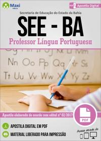 Professor Língua Portuguesa - SEE-BA