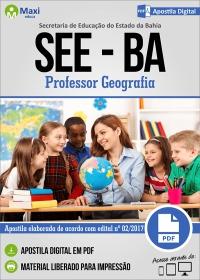 Professor Geografia - SEE-BA