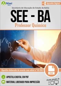 Professor Química - SEE-BA
