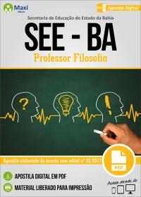 Professor Filosofia - SEE-BA