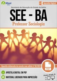 Professor Sociologia - SEE-BA