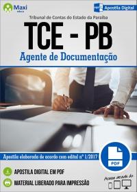 Agente de Documentação - TCE-PB