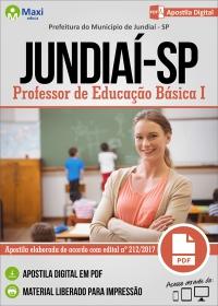 Professor de Educação Básica I - Prefeitura de Jundiaí - SP