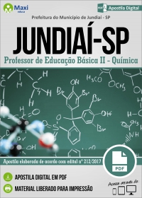 Professor de Educação Básica II - Química - Prefeitura de Jundiaí - SP